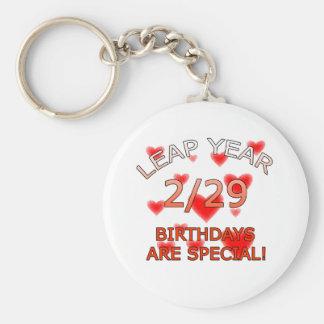 Leap Year Birthdays Are Special! Basic Round Button Keychain