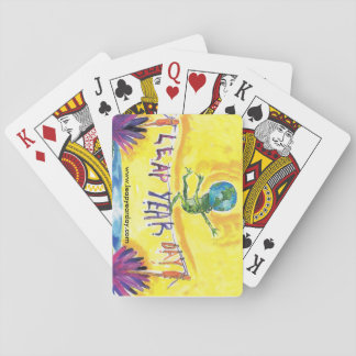 LEAP YEAR DAY BALANCING ACT PLAYING CARDS