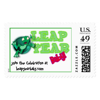 Leap Year / Day Celebration Postage Stamp