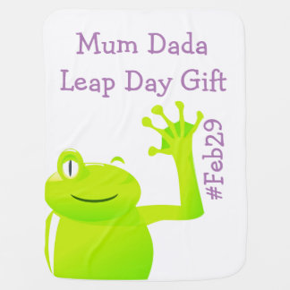 Leap Year/ Leap Day Baby Blanket