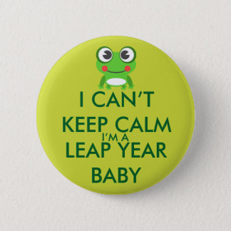 Leap Year/ Leap Day Baby Button