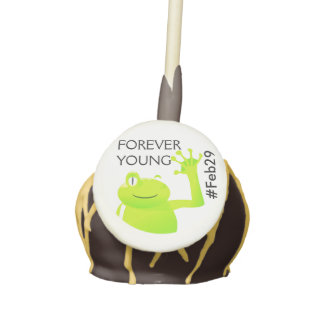 Leap Year/ Leap Day Baby Cake Pop