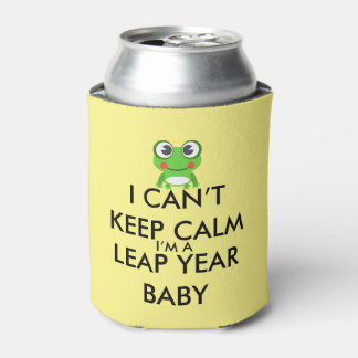 Leap Year/ Leap Day Baby Can Cooler