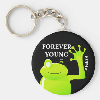 Leap Year/ Leap Day Baby Keychain