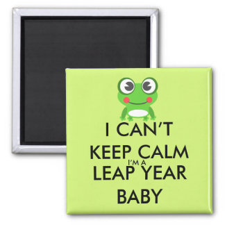 Leap Year/ Leap Day Baby Magnet