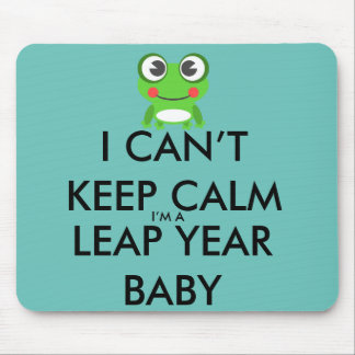 Leap Year/ Leap Day Baby Mousepad