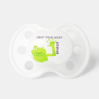 Leap Year/ Leap Day Baby Pacifer Pacifier