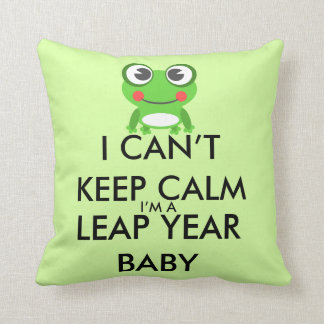 Leap Year/ Leap Day Baby Pillow