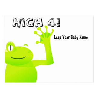 Leap Year/ Leap Day Baby Postcard
