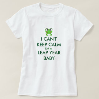 Leap Year/ Leap Day Baby Shitrt T-Shirt