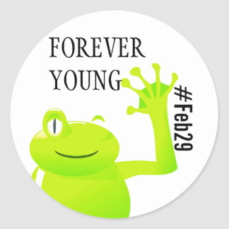 Leap Year/ Leap Day Baby Sticker