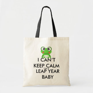 Leap Year/ Leap Day Baby Tote