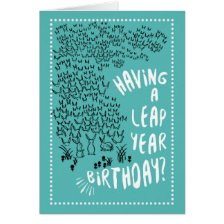 Leap Day Greeting Cards Zazzle