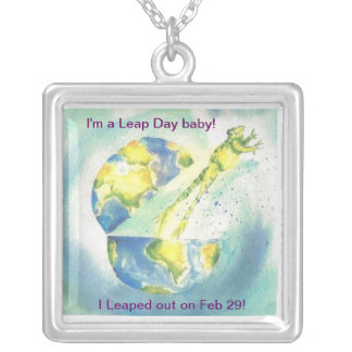 Leaped Out! Silver Plated Necklace