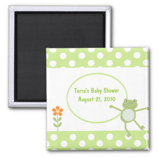 Leapfrog Frog Baby Shower Favor Magnet