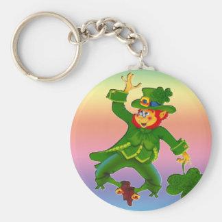 Leapin' Leprechaun Keychain