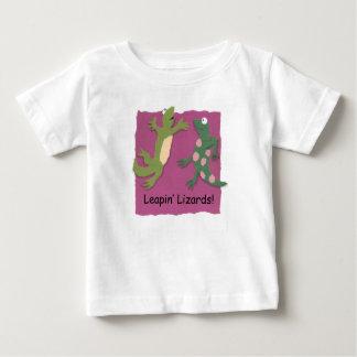 """Leapin' lizards"" baby T-shirt"
