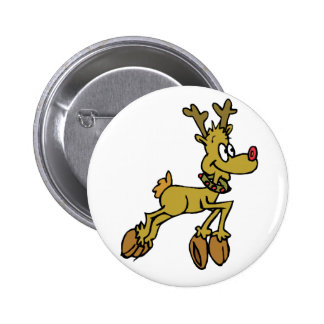 Leaping 2 Inch Round Button