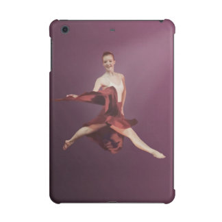 Leaping Ballerina in Red and Lavender iPad Mini Case