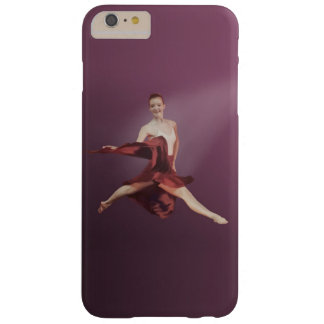 Leaping Ballerina in Red Barely There iPhone 6 Plus Case