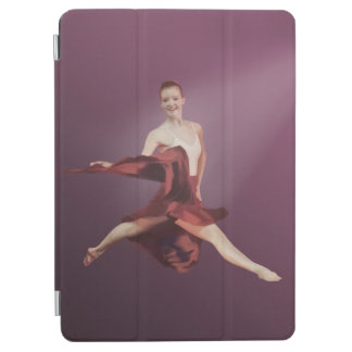 Leaping Ballerina in Red iPad Air Cover