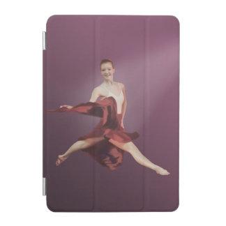 Leaping Ballerina in Red iPad Mini Cover