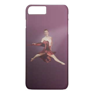 Leaping Ballerina in Red iPhone 7 Plus Case