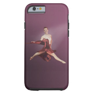 Leaping Ballerina in Red Tough iPhone 6 Case