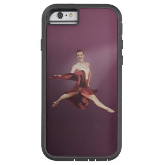 Leaping Ballerina in Red Tough Xtreme iPhone 6 Case