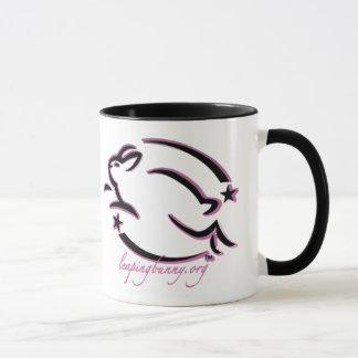 Leaping Bunny Outline Mug