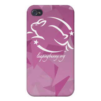 Leaping Bunny Stars iPhone 4 Cover