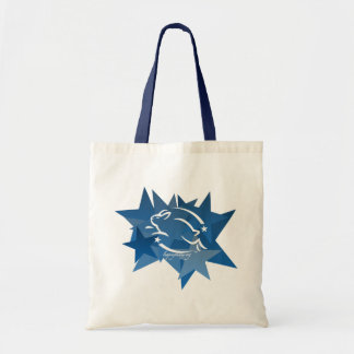 Leaping Bunny Stars Tote Bag