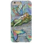Leaping Carp Mermaid Fantasy Art Mermaids Barely There iPhone 6 Plus Case