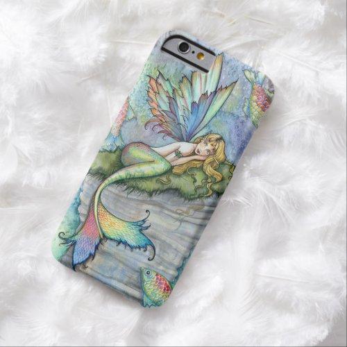 Leaping Carp Mermaid Fantasy Art Mermaids Phone Case
