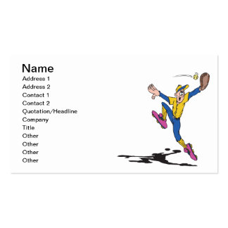 Leaping Catch Business Card