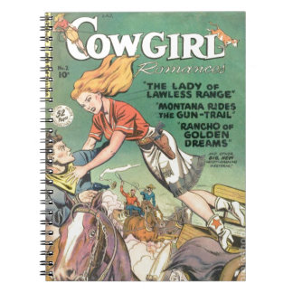 Leaping Cowgirl Notebook