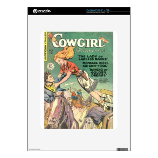 Leaping Cowgirl Skins For The iPad