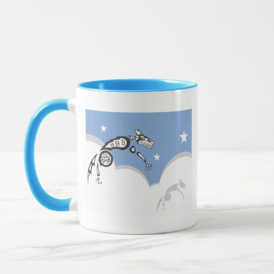 Leaping Coyote #1 Mug