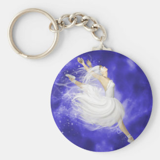 Leaping Dancer Key Chain