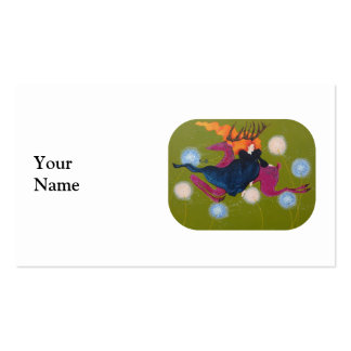 Leaping Deer. Business Card