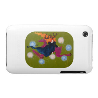 Leaping Deer iPhone 3 Case-Mate Cases
