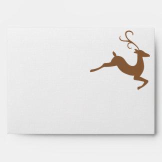 Leaping Deer Envelope