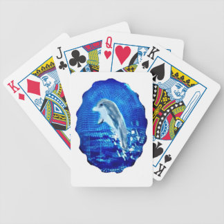Leaping Dolphin Art Bicycle Playing Cards