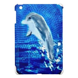 Leaping Dolphin Art iPad Mini Case