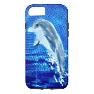 Leaping Dolphin Art iPhone 8/7 Case