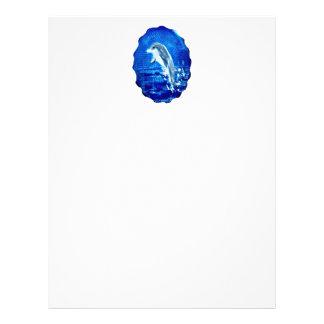 Leaping Dolphin Art Letterhead
