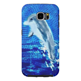 Leaping Dolphin Art Samsung Galaxy S6 Case