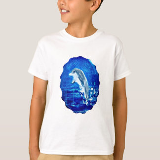Leaping Dolphin Art T-Shirt