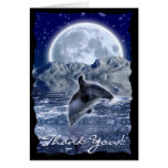 LEAPING DOLPHIN Fantasy Thank You Card Series