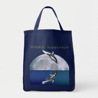 LEAPING DOLPHIN II Wildlife Tote Bag